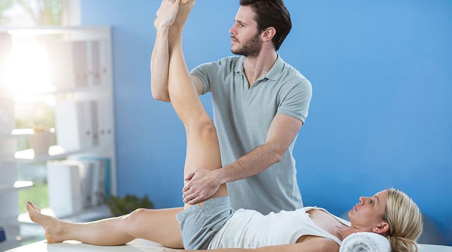Leczenie bioder, terapia chorób biodra i rehabilitacja.